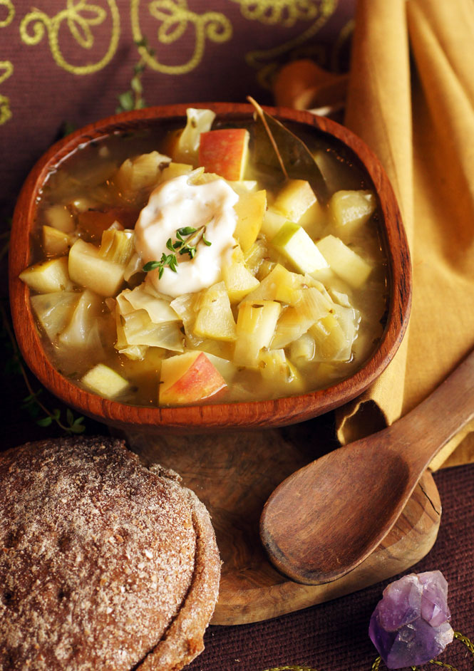 apple cabbage skryim stew