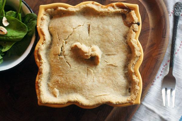 Save The Lamprey Ale Seitan Pie